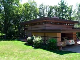 フランク・ロイド・ライト、James B. McBean Residence、窓